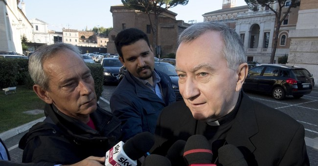 Pope's deputy urges dialogue after Francis accused of heresy