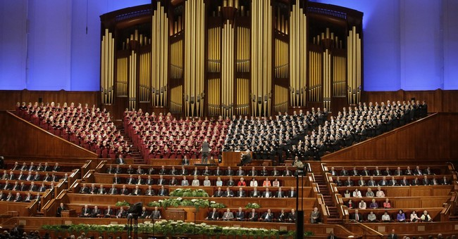 Mormon leader reaffirms faith's opposition to gay marriage