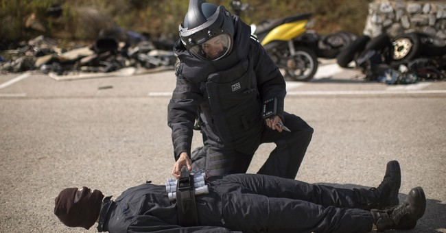 AP PHOTOS: Catalan police watch over their homeland