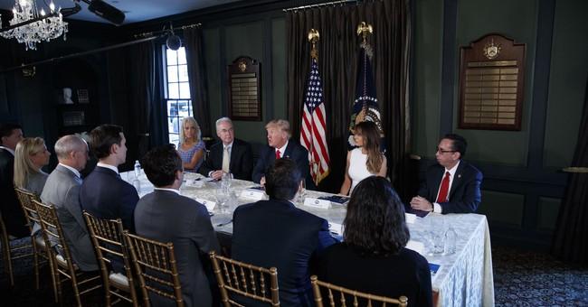 The Latest: Melania Trump hosts session on opioid crisis