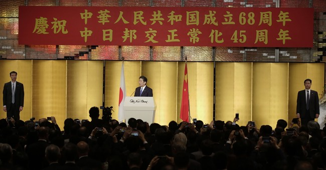 PM Abe celebrates anniversary of Japan-China ties