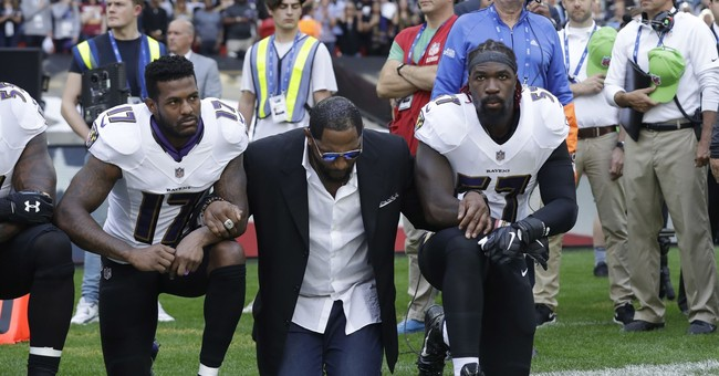 Petition seeks removal of Ray Lewis statue over NFL protest