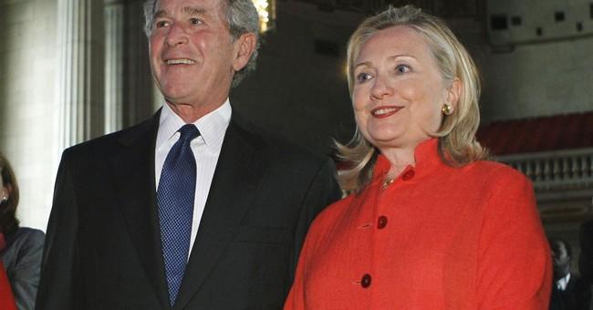 Bush, Hillary Clinton to help raise money in Virginia race