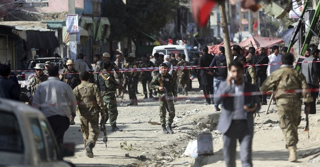 Hospital official says 5 killed in Afghan suicide bombing