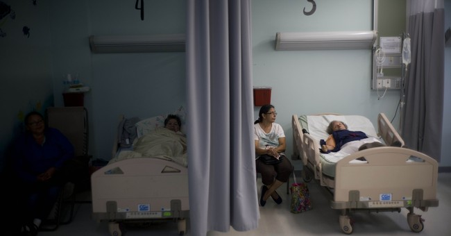 Hurricane stresses Puerto Rico's already weak health system