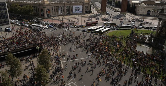 Europe wary but muted ahead of Catalonia's independence vote