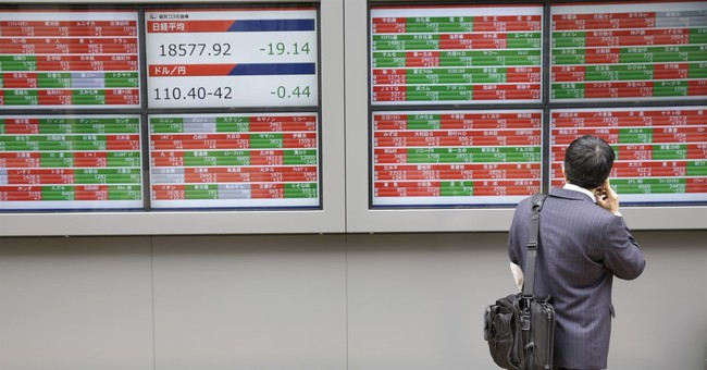 Asian shares advance on strong factory data for China, Japan