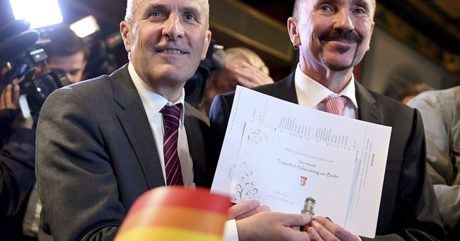 Germany celebrates 1st same-sex weddings after law change