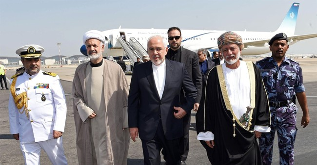 Iranian foreign minister arrives in Oman for talks