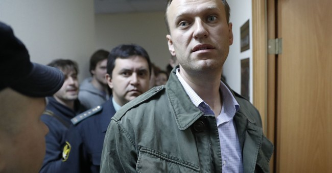 Court jails Russian opposition leader Navalny for 20 days