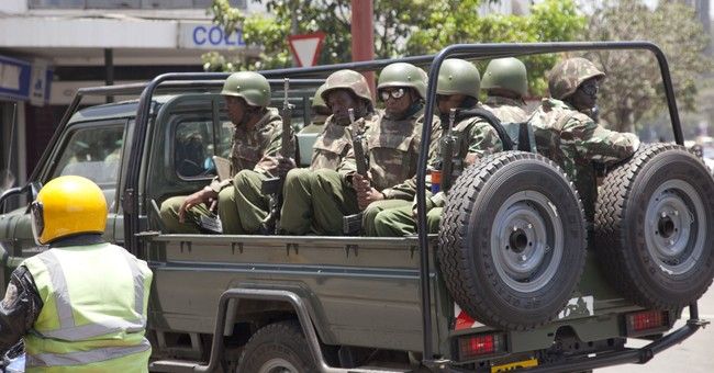 Kenyan police fire tear gas to disperse protesters