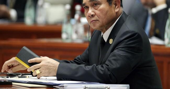 Trump hails stronger Thailand ties as he meets junta leader