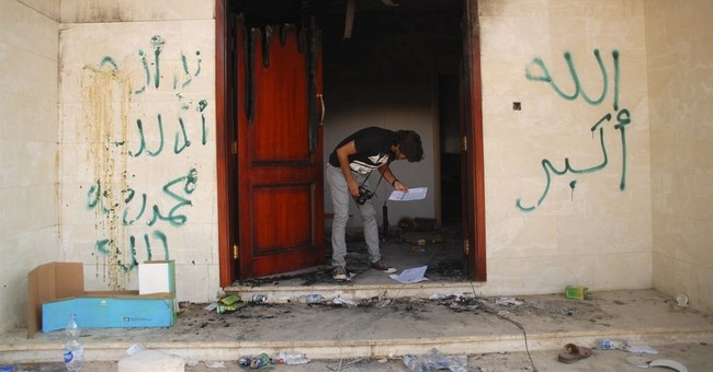 The Latest: Bodyguard recounts deadly Benghazi attack