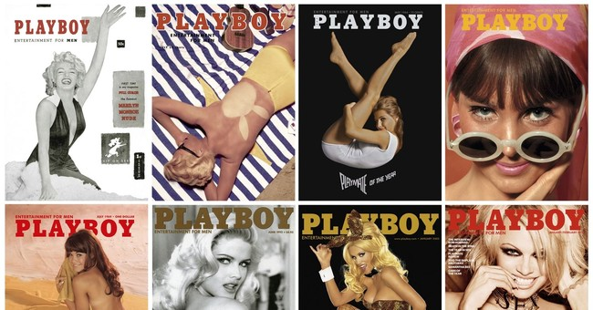 When it came to nudes, Playboy changed and stayed the same