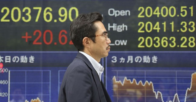 Global shares gain on strong manufacturing, hiring data