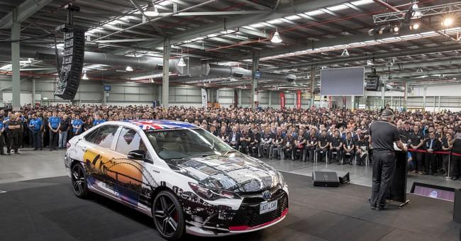 "Toyota plant closure latest step in Australian ""Carmageddon"""