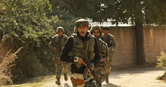 Rebels storm Indian paramilitary camp in Kashmir; 4 killed