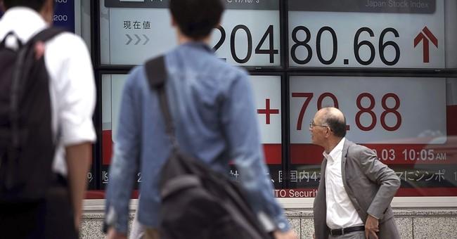 Japan, Hong Kong shares track Wall Street advance