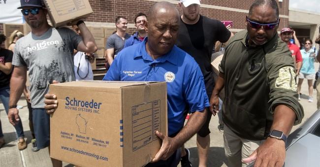 Houston leaders start providing grants for Harvey recovery