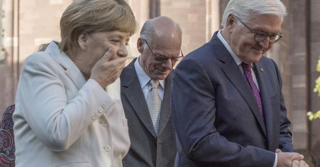 Merkel grateful as Germany celebrates unification