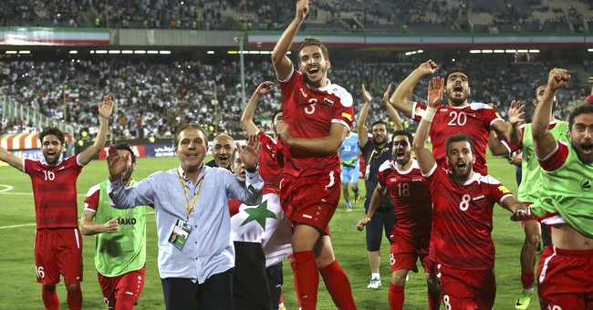 Syria preparing for World Cup playoff against Australia
