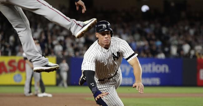 Judge, Gregorius, bullpen rally wild-card Yankees past Twins
