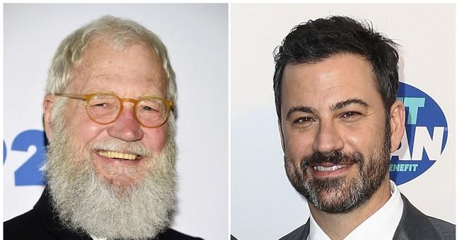 David Letterman among Jimmy Kimmel's guests during NY visit