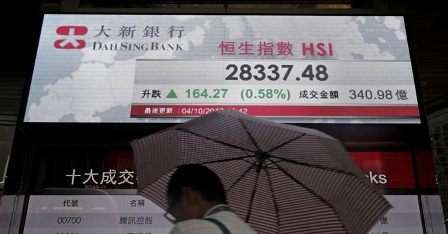 World stocks mixed as investors await more data, Fed remarks