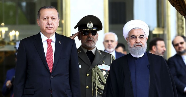 Leaders of Iran, Turkey stress opposition to Kurdish state