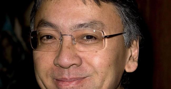 The Latest: Nagasaki mayor lauds literature laureate
