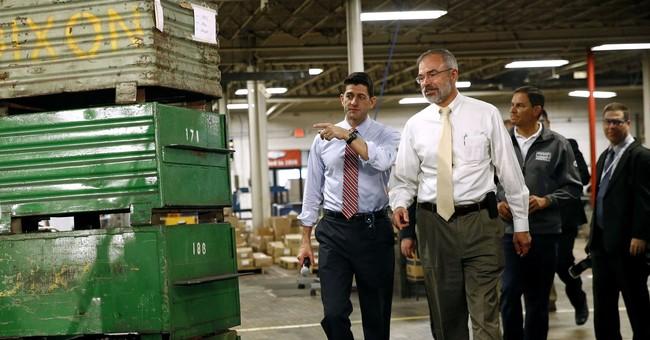 Ryan touts GOP tax plan during visit to Maryland factory