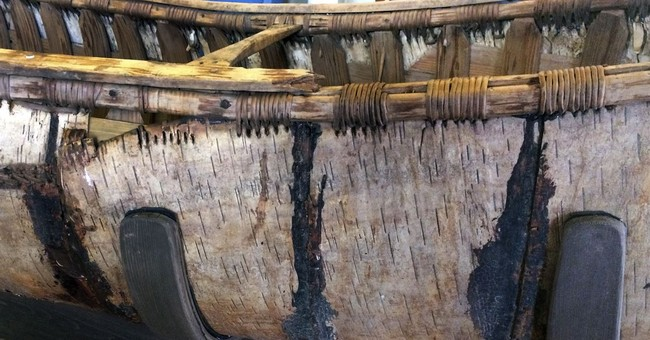 1 of oldest Native American birch-bark canoes now on display
