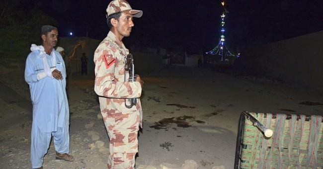 Suicide bomber strikes Shiite shrine in Pakistan, killing 20
