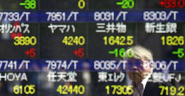 World shares creep higher as Asian holidays stunt trading