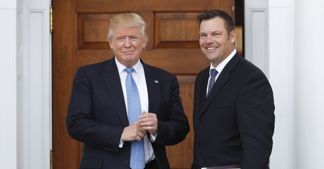 Kobach plan for Trump included federal voting laws changes