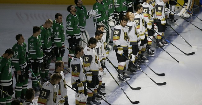 Stars, Golden Knights honor Las Vegas victims before opener