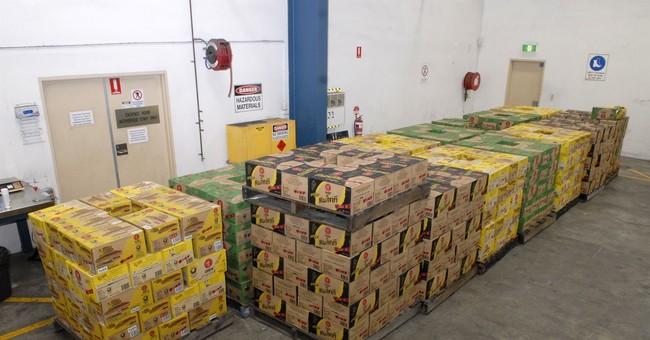 Australian police seize record haul of meth ingredient