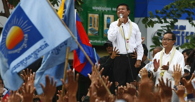 Cambodia takes first legal step to dissolve opposition party