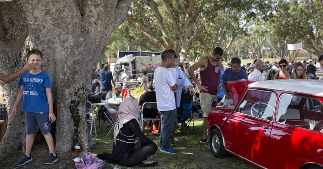 AP PHOTOS: In Israel, antique car collectors find an escape