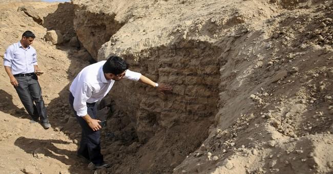 In Gaza, Hamas levels an ancient treasure