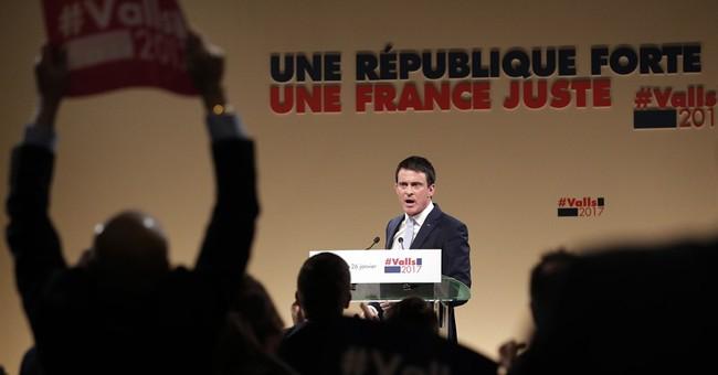 French left-wing presidential primary: Hamon vs. Valls