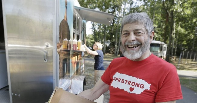 Doomsday prepper sends all of his food to Puerto Rico