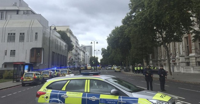 Police: Car crash in London is traffic accident, not terror