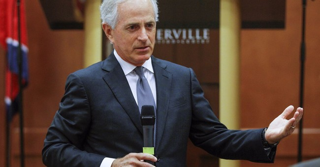 AP FACT CHECK: WH wrong in saying Corker behind Iran deal