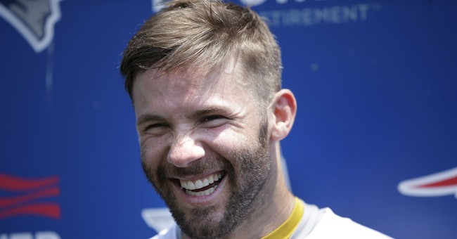 NFL star Julian Edelman to read from his new children's book