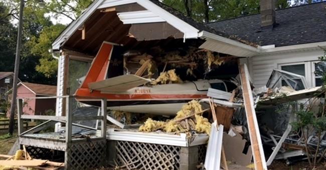 Sheriff says 3 survive plane crash into Virginia home