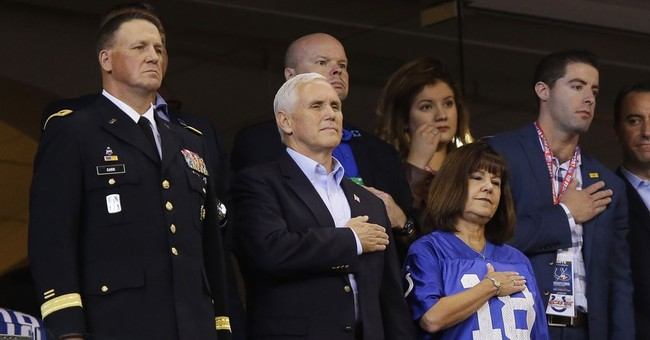 VP Pence leaves NFL game after players protest during anthem