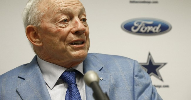 Jerry Jones: Cowboys 'will not play' if they disrespect flag