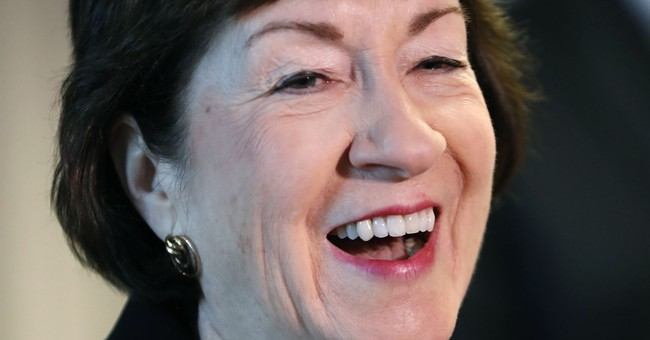 GOP's Susan Collins to stay in Senate, ditches governor run