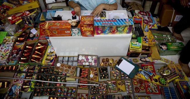 Ban on sale of fireworks in Indian capital as festival nears